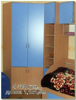 Цена шкаф в детскую комнату, в Киеве, Украина