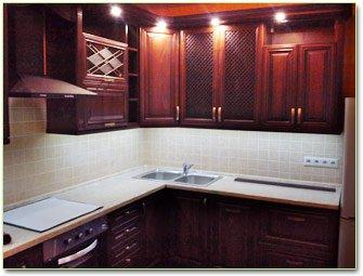 Кухня корпусная мебель цена