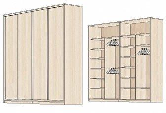 элитные шкафы купе, шкафы купе в киеве, модели шкафов купе