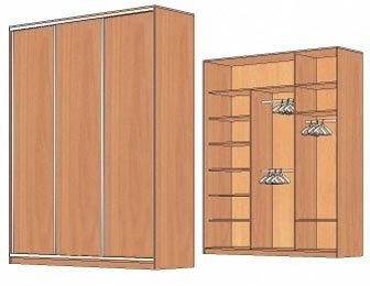 мебельные шкафы купе, продажа шкафов купе, шкафы купе киев